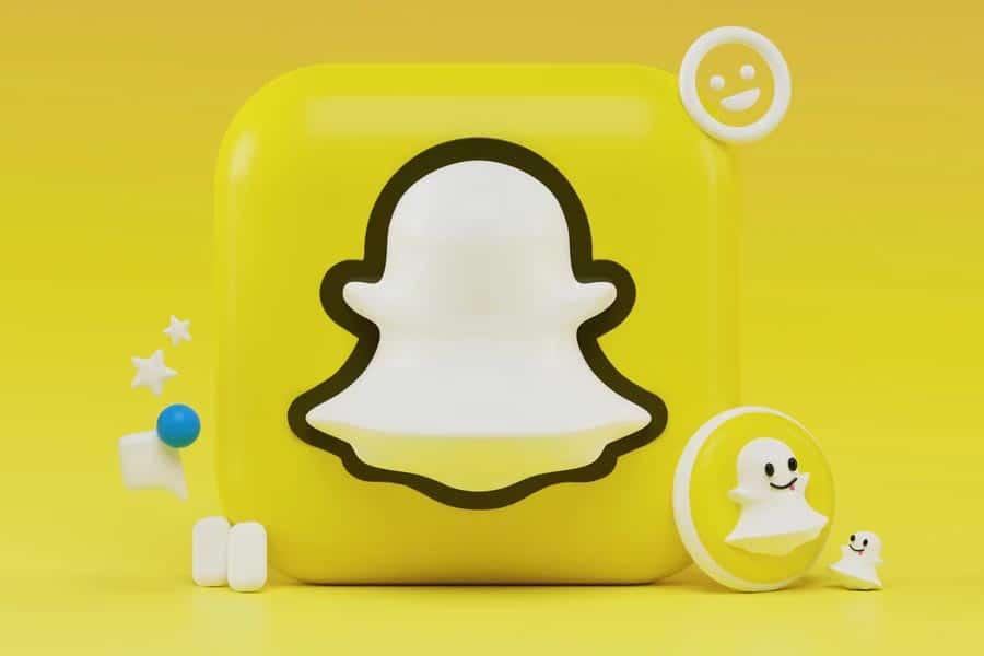 snapchat logo jaune
